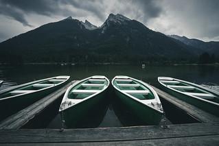 Moody lake Hintersee