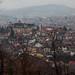 Sarajevo vista de onde acampamos