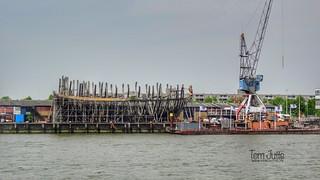 Historic Shipyard 'de Delft', Schiehaven, Rotterdam, Netherlands - 5215