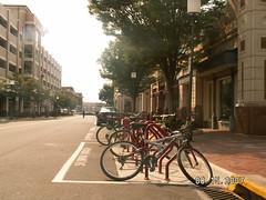 PICT0177 (SAFEbuiltstudio) Tags: newurbanism plannedcommunities restontowncenter reston virginia urban commercial multistory bike