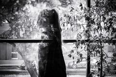 at the window . . . (Dilanou) Tags: street story window sw bw blackandwhite black white mystical magical