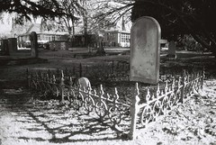 Cemetery (goodfella2459) Tags: nikon f4 af nikkor 24mm f28d lens fomapan profilineclassic 100 35mm blackandwhite film analog cemetery tombstones graves bowral churchyard southern highlands new south wales bwfp milf