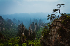 With Nothing On My Tongue But Hallelujah (ikxposure.com) Tags: zhangjiajie china asia canon 60d landscape color scenery outdoor nature green mountains