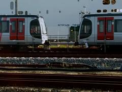 Almost connected (fjthijsebaard) Tags: rotterdam trein metro hoekvanholland hoekselijn ret tram