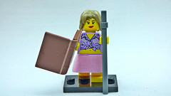 Brick Yourself Custom Lego Figure  Moonlighting Librarian