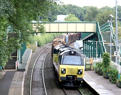 70804 long shot (kitmasterbloke) Tags: wrexham shropshire train railway locomotive transport uk outdoor