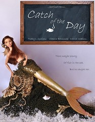 Catch of the Day Poster (MaxxieJames) Tags: vittoria belmonte doll barbie made move mermaid mattel poster movie film teresa brunette