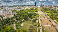 Paris from the Eiffel Tower, France (papa_johns_95) Tags: paris eiffel tower view city france