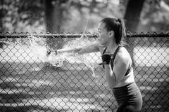 Jeanette (d26b73) Tags: people portrait noiretblanc sport bw girl monochrome schwarzweiss blackandwhite