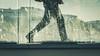 Walking of silhouette (dono heneman) Tags: marche walking ombre shadow silhouette urbain urban urbaine ville city pont bridge batiment building vitre verre glass rayure stripe gens people homme man nantes loireatlantique paysdelaloire france pentax pentaxart pentaxk3 ciel sky