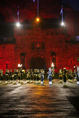 Tattoo 2nd Visit-59 (Philip Gillespie) Tags: 2017 edinburgh international military tattoo splash tartan scotland city castle canon 5dsr crowds people boys girls men women dancing music display pipes bagpipes drums fireworks costumes color colour flags crowd lighting esplanade mass smoke steam ramparts young old cityscape night sky clouds yellow blue oarange purple red green lights guns helicopter band orchestra singers rain umbrella shadows army navy raf airmen sailors soldiers india france australia battle reflections japan fire flames celtic clans