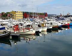 Tórshavn harbour (Jaedde & Sis) Tags: føroyar tórshavn harbour boats reflection challengeyouwinner cyunanimous gamewinner 15challengeswinner