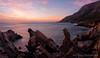 Pinnacle Panorama (Panorama Paul) Tags: paulbruinsphotography wwwpaulbruinscoza southafrica westerncape clarensdrive mountains ocean pinkclouds sunset nikond800 nikkorlenses nikfilters panorama