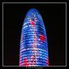 2015.02.13 Barcelona by night 19 (garyroustan) Tags: torre agbar barcelona barcelone spain espana espane mer méditerranée mediterranean nuit night light color noche