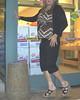 Supermarket wedges (Blonde Karyn Heels) Tags: crossdress public wedges feet toes anklet heels capris