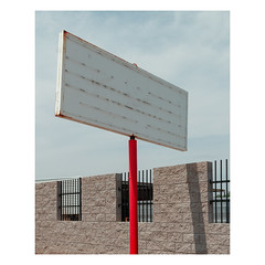 S-2708 (Florentino Luna) Tags: canonef24105mmf4lisusm canont5 1200d t5 phoenix arizona street minimalism minimal minimalist photography canon ef 24105mm mm 24105 f4 simple sign empty blank pole red white blue gray grey black brick fence sky wall line lines color colors colour colours shadow is usm downtown dtphx 2017 outside outdoor outdoors
