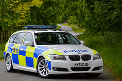 NK61 CJU (Cleveland & Durham RPU) Tags: durham constabulary bmw 330d 3series touring anpr police traffic car rpu roads policing unit 999 emergency vehicle nk61cju