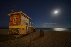Hallandale beach at night (karinavera) Tags: ilce7rm2 voightlaender sonya7r2 light moon stars beach hallandalebeach longexposure night florida miami ilcea7m2