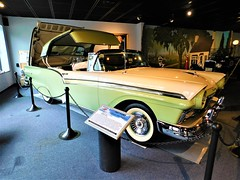 1957 FORD CONVERTIBLE (Visual Images1 (Thanks for over 4 million views)) Tags: classic vintage antique car convertible northeastclassiccarmuseum