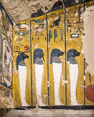 KV17, The Tomb of Seti I, Stairwell C (kairoinfo4u) Tags: egypt luxorwestbank valleyofthekings eastvalley thebeswestbank thebes tombofsetyi kv17 setyi égypte egitto egipto ägypten sethosi unescoworldheritagesites setii ancientthebes ancientegyptianart luxor aluqsur tombofsetii
