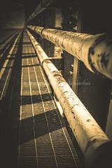 """Different trajectories; same destination."" (Shutterbytes by Michele Hamilton) Tags: canada fortprovidence frankschannel july2015 northwestterritories architecture bridge engineering stockphoto journey destination trajectory"