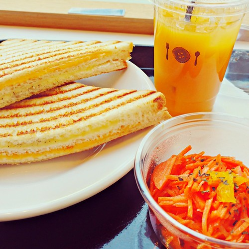 EyeEm Selects mostly orange lunch at SHARE PARK CAFE