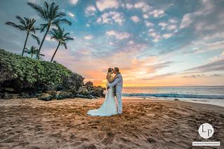 A BEAUTIFUL SUNSET WEDDING