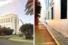 Bacardi / Alley (tropeone) Tags: alley street sunset bacardi puertorico usa sanjuan factory sky building caribbean