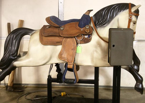 Coin-Operated Mechanical Horse ($1,120.00)