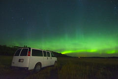 Sky splash (Len Langevin) Tags: auroraborealis northernlights alberta canada sky night longexposure nikon d7100 tokina 1116