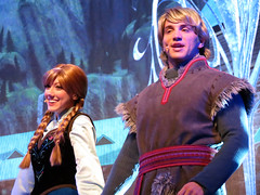 Anna and Kristoff (meeko_) Tags: anna princess princessanna kristoff prince frozen characters disneycharacters first time forever forthefirsttimeinforever singalong celebration forthefirsttimeinforeverafrozensingalongcelebration frozensingalong show entertainment hyperiontheater echolake disneys hollywood studios disneyshollywoodstudios themepark walt disney world waltdisneyworld florida