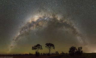 milky way rainbow over Tummaville