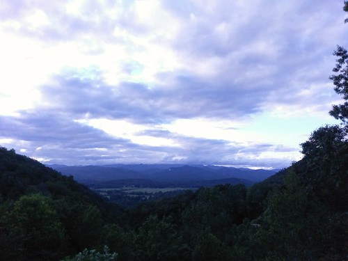 Blue ridge overlook