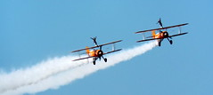 DSCN38659 (dkmcr) Tags: blackpoolairshow lancashire seaside airdisplay aerobatics coast aircraft plane aeroplane 12th august 2017 breitling wingwalkers stearman boeing