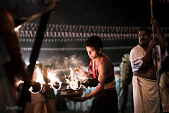 manarcadu devi temple (vivekphotography) Tags: india kerala hindu festivel lights travel people