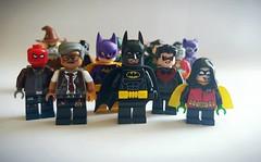 Happy Batman Day! (Kid_Photgrapher27) Tags: batman day dc lego toy robin commissioner gordon batgirl nightwing red hood deadshot catwoman ras al ghul bane scarecrow joker riddler