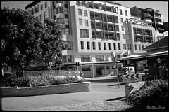 CRW_9397 (mattwardpix) Tags: apartments scott street watt black white building architecture red filter newcastle nsw australia matthewward