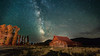 Milky Way over Moulton Barn (lybrand) Tags: grandteton milkyway moultonbarn night timelapse wyoming