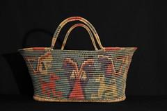 Old Basket Mexico Matlalzinca Toluca (Teyacapan) Tags: canasta matlalzinca mexico edomex toluca crafts indigenous artesanias baskets vintage
