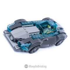 Speed Shark (KEEP_ON_BRICKING) Tags: lego speed champions moc concept car vehicle future transportation shark design mercedes racing race racer sleek look afol keeponbricking