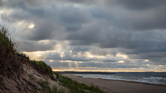 Plan B (Bert CR) Tags: atlantic eastcoast holiday seaside vacation planb pei princeedwardislandnationalpark nationalpark stanhope stormy clouds sunshine beach cold seaward shoreline dunes northshore timing