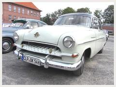 Opel Kapitän, 1954 (v8dub) Tags: opel kapitän 1954 allemagne deutschland germany german gm niedersachsen cloppenburg pkw voiture car wagen worldcars auto automobile automotive old oldtimer oldcar klassik classic collector