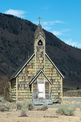 Faith (Thank you for 2.7 Million views) Tags: spences bridge bc british columbia cariboo road church england joeinpenticton joe jose garcia trans canada highway sagebrush cpr railway 8 thompson river nicola indian reserve number 4 anglican cooks ferry band in history historic museum antique roadtrip bell tower belltower canyon fraser frazer shingle siding shingles texture trip