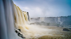 Cataratas, Foz do Iguacu (errol_douwes) Tags: waterfall iguazu iguacu brazil fozdoiguacu river flow slowshutter dreamy light explore southamerica nikon d750 wideangle