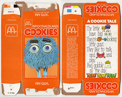 1984 Mcdonald's Cookies (Brett Streutker) Tags: restaurant cafe diner eatery food hamburger cheeseburger eat fast macdonalds burger vintage colonel sanders kentucky fried chicken big mac boy french fries pizza ice cream server tip money cash out dining cafeteria court table coffee tea serving steak shake malt pork fresh served desert pie cake spoon fork plate cup drive through car stand hot dog mustard ketchup mayo bun bread counter soda jerk owner dine carry deliver