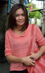 pretty fashionable woman (the foreign photographer - ฝรั่งถ่) Tags: pretty fashionable color coordinated young woman khlong thanon portraits bangkhen bangkok thailand nikon d3200