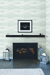 Lounge with fireplace (ArchVendas) Tags: tv architecture contemporary copyspace decor design fireplace flatscreen home homedecor house interior interiordesign lantern lounge lving modern realestate realty style styling white