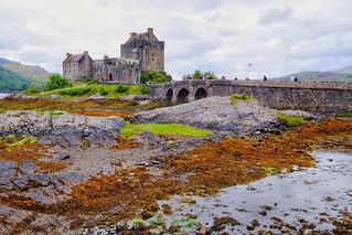 Eilean Donan castle (  Scotland )