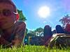 Oh summer days ☀️ (#KPbIM) Tags: 2017 summer gardens michigan house june outdoors birmingham cranbrook bloomfield grass daniel sun dima