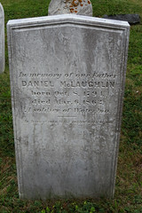 The grave of Daniel McLaughlin in the old section of the cemetery of The Church of Ascension in North Head on Grand Manan Island (Bay of Fundy), New Brunswick (Ullysses) Tags: danielmclaughlin battleofwaterloo napoleanbonaparte grave tombstone northhead grandmananisland bayoffundy newbrunswick canada summer été pierretombale churchoftheascension anglican cemetery soldier soldat